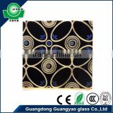 black paint flower 2016 new product for entertainment venues ktv decor curtains designs