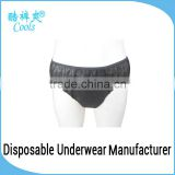 Disposable Briefs Black Nonwoven Men Sexy Briefs Custom Men Briefs Underwear For Spa,Sauna,Travel                                                                                         Most Popular                                                     Supp
