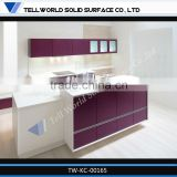 2014 hot sale modern professional beautiful luxury artificial marble kitchen worktops