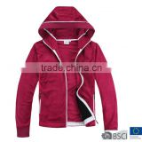 Womens Two Side Brushed Fleece Jacket Mid Layer