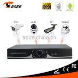 P2P Cloud motion detection record 4ch AHD / TVI / Analog / IP camera 1080p hd dvr