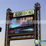 outdoor rental led display, Hot product 2011 P6.25mm slim die casting aluminum rental led display