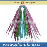 double flat shoestring shoelace
