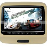 Back Seat Screen Monitor 9 Inch Car Headrest DVD Player