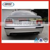 double pipes 1996-2003 5 series FOR BMW E39 M5 bumper rear diffuser spoiler