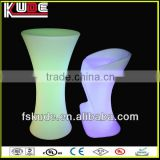 led bar furniure/led glow stool for bar