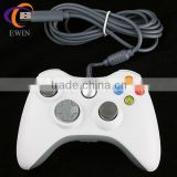 white wired controller /gamepad for microsoft xbox 360