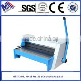 manual operated metal sheet cutting machinery for sheet metal shearing
