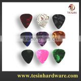Fashion and factory making custom celluloid guitar picks 500 pcs lots with bulk packing