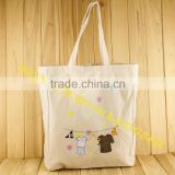 Custom recyclable pvc coated fabric shopping organic cotton bags