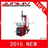 JUNHV JH-T19 2016 hot sale CE approved equipment used for tire/ machine to change tires/tyre changer prices