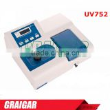 Single Beam Visible Spectrophotometer UV752 ( 195-1020nm) Laboratory Analyses Instrument