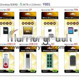 micro sd memory card ddr3 dram module usb drive package plastic blister clamshell box tray 1