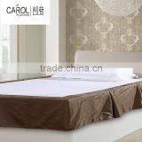 various color soft cozy sublimate trim hotel bed skirt