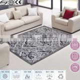 2016 hot sale grey abstract silk mosque carpet floor carpet