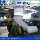 Low Energy consumption cost of tissue paper machine, bamboo pulp toilet paper making machine