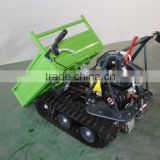 SF0610H, 6.5Hp garden mini dumper, alterrain transporter with crawler for agriculture and gardening