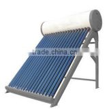 2015 best selling integrate non-pressurized solar heaters system price mini solar hot water heater