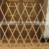 WY-173 Folding Artificial Wooden Expanding garden bamboo trellis and bamboo fence For flowers Arrangement