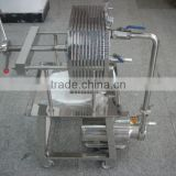Stainless Steel Filter Press / Syrup Press Filter/Sugar Filter Machine
