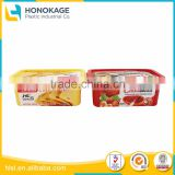250g Cheese Cup by Cheap Food Packaging Container Manufacture in China, Clear Plastic Bowls with Lids