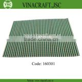 Handicraft bamboo dining table mat in Vietnam for hot sales
