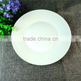 INquiry about Cheap Bulk 10 Inch White Round Japanese Ceramic Hot Plate Cooking Daliy Use