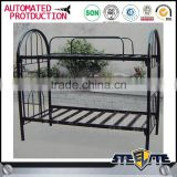 Dormitory furniture cheap metal double metal sheet tube metal bunk bed for adults