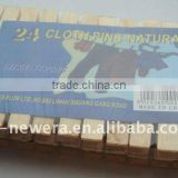 wooden cloth pegs factory