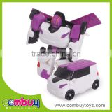 Top sale educational deformation set toy plastic robot model