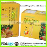 High Purity Instant Honey Ginger Tea, Herbal Ginger Tea Products, Organic Slimming Ginger Tea