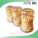 Dongguan factory natural bamboo toothpick China bamboo toothpicks