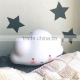 hot sale good quality baby room decoration cute Luminous toy lamp smiling clouds shape led light Luminous toy