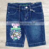 bobby jack ramie cotton polyester spandex girls denim shorts #3R5558