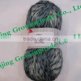 14N23 55.5%acrylic 34%wool 6%mohair 4.5%polyamide blended yarn crochet multicolor hand knitting yarn