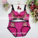 pink seamless sexy bra / city ttg lace pushup seamless bra / top quality women underwear