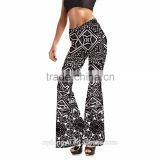 star Plus size bell bottom pants/ morning xg new design flares/ blue tree wide legging flare trousers