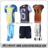 Athletic sublimation unisex american football jerseys wholesale customized soccer shorts club practice football shirts