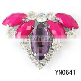 2014 hot sale fashion rhinestone accessories buckle for shoes