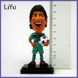 Customize Funny Messi for Bobble Head Resin Souvenir