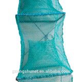 China 35cm Foldable crab trap crab net Lobster net fyke eel net