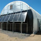 Full automatic blackout (light deprivation) greenhouse for medical plants growing, 100% dark