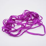 Manufacturer Soft 3mm silicone flat elastic cord elastic earloop