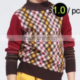 W1016 China factory clearance stock lots kids sweater,sweater stock lots for kids,Kids sweater stock lots