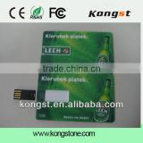 credit card shaped usb flash drive for promotion gift, usb2.0, 1GB,2GB,4GB,8GB,16GB,32GB