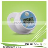 High quality safety silicon material infants baby pacifier ,nipple digital thermometer with BPA free                                                                         Quality Choice