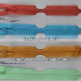 high quality KCC invisible close-end nylon zipper