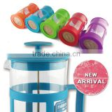 colorful glass coffee press tea maker gifts sets dinner sets