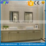 High Quality Beautiful Polished Cloudy Beige Interior Ground Marble Tile