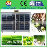 CE certificated factory directly supply Hydroponics cow cattle sheep barley fodder growing system machine(+86 13603989150)